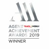 Winner of the Agent Achievement Awards 2019