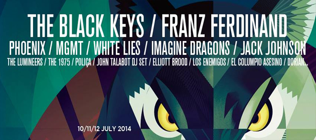 Bilbao BBK Live 2014 - Cassidy Travel
