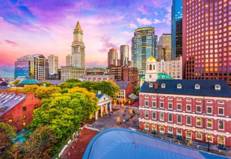 American Holidays to Boston with Cassidy Travel