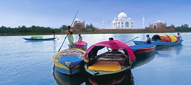 India Escorted Tour - River Boats
