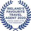 Voted Ireland's Favourite Travel Agent 2020 by readers of the Irish Independent